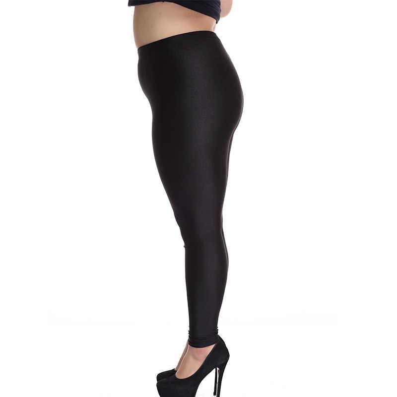 3df17b9a06956 ... 2018 lady push up slim leggings fashion new style hot shine legging  girl black leggings summer ...