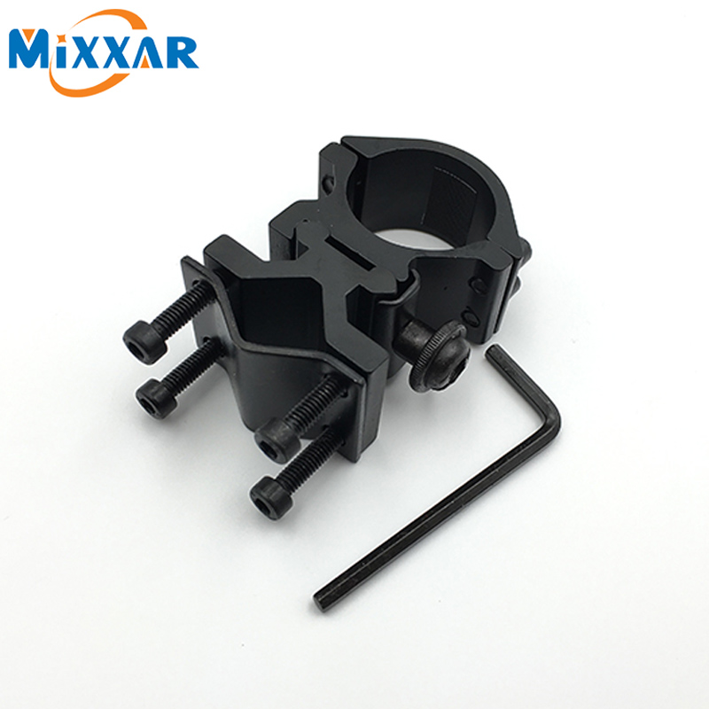 zk5 Tactical Barrel Ring Scope Sighting Telescope Clamp Gun Mount for 501B C8 Hunting Flashlight Torch Laser Sight Holder universal mount adapter cycling bicycle handlebar mount clamp holder aluminum alloy flashlight laser torch sight scope clamps