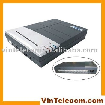 Teléfono PBX/pabx CS416 (4 líneas de Teléfono y 16 Ext.)-venta caliente-promotiion