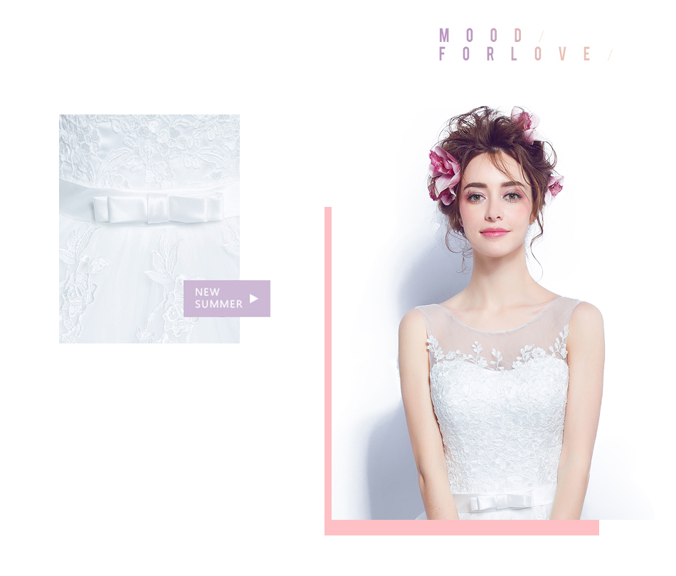 Angel Wedding Dress Marriage Bride Bridal Gown Vestido De Noiva 2017 Lace, flowers, perspective, backless 612 4