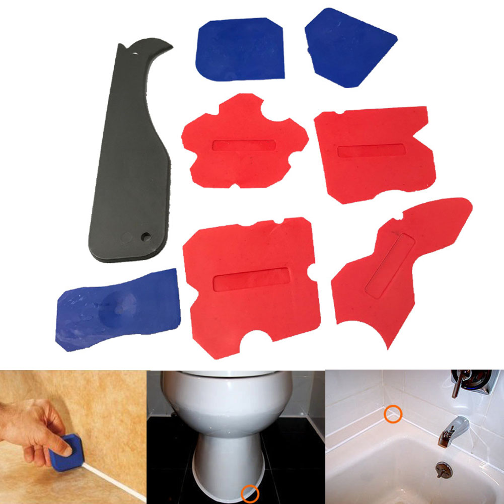 Shovel Home-Tool Multifunction Silicone 8pcs Glue Profile-Line Sealant Joint-Corner Caulk-Remover