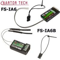 FS IA6 FS IA6B 6CH 2 4G Dual Antenna RC Receiver For Flysky FS I6 FSI6