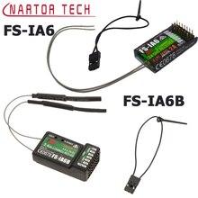 FS IA6/FS IA6B/FS IA10B 6CH 2.4G Dual Antenna RC Receiver For Flysky FS I6 FSI6  FS i4 FS i6 fs ia10b Fast delivery