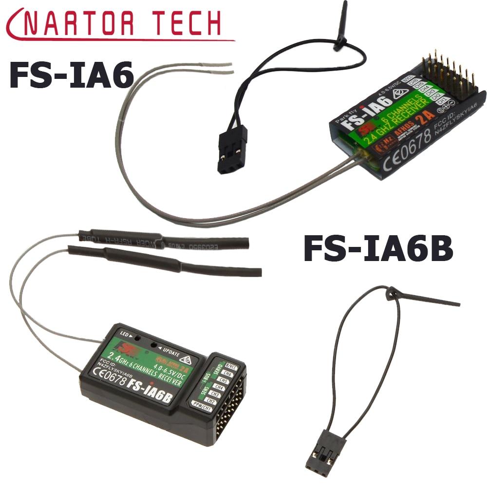 FS-IA6/FS-IA6B/FS-IA10B 6ch 2.4g antena dupla receptor rc para flysky FS-I6 fsi6 FS-i4 FS-i6 fs-ia10b entrega rápida