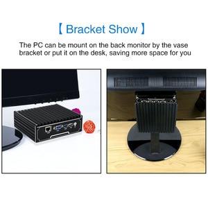 Image 5 - Yanling 4 Ports Lan RJ 45 Ethernet Mini PC Intel Celeron J1900 quad core 2.0GHz pfsense pare feu routeur prise en charge 2.5 disque dur/SSD