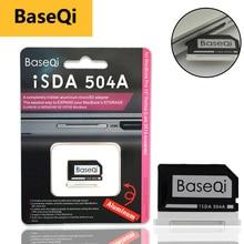 "Original BaseQi Aluminum MiniDrive Micro SD Card Adapter CardReader Ninja Stealth Drive for Macbook Pro Retina 15"" Memory Card"