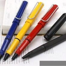 Роскошная цветная Ручка-роллер для сафари M63, запасная ручка для канцелярских принадлежностей, подарочная ручка для письма, перьевая шариковая ручка pk, черная Vista