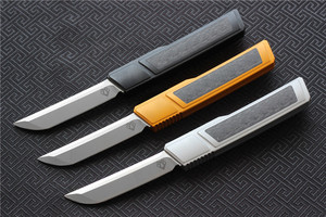 Image 3 - High quality VESPA D2 blade Ripper knife, Handle:7075Aluminum+CF,survival outdoor EDC hunt Tactical tool dinner kitchen knife