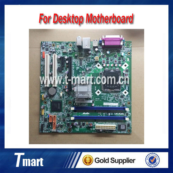 ФОТО 100% working Desktop motherboard for Lenovo M6600N A4600T IB43M System Board fully tested