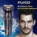 Popular 100-240 V de tensão mundial barbeador à prova d' água recarregável barbeador elétrico para homens aparador de barba barbeador elétrico de barbear