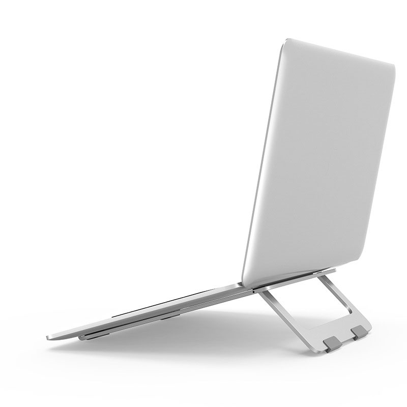 Support pour ordinateur portable pliable Macbook Pro en aluminium réglable support de tablette de bureau Table de bureau support de téléphone portable pour ordinateur portable iPad Air