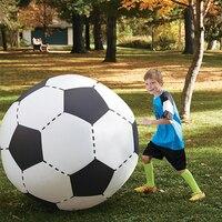 75 CM 130 CM Inflável Voleibol Futebol Para Meninos Crianças Esporte Ao Ar Livre Praia Brinquedos Para Adultos Jardim Fonte Do Partido Crianças Gigante futebol
