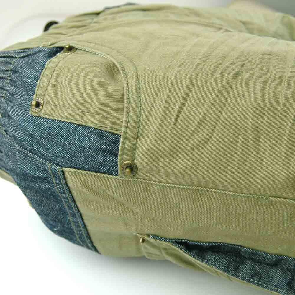 Kualitas tinggi 3-7Y Anak Army Hijau Celana garis bordir Kasual Boy - Pakaian anak anak - Foto 3