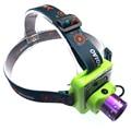 Portable mini solar usb headlamp CREE Q5 led rechargeable headlight camping head flash light for USB charger