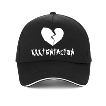 Newest Fashion xxxtentacion cap letter Print Rip Hip Hop baseball Cap Jahseh Dwayne Onfroy hat snapback bone