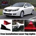 Бесплатная Установка Для Renault Latitude/Safrane/Для Renault-Samsung SM5/солнечная Энергия Акульих Плавников Предупреждающие Противотуманная Фара/LED