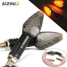 Luz de señal de giro para motocicleta 12V indicadores LED intermitente lámpara para HONDA CB500F CBF 600 CBR 650F HORNET 900 África doble CRF1000L