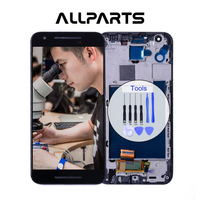 Tested Warranty 5 2 Black Display For LG Nexus 5X LCD Touch Screen Digitizer Replacement For