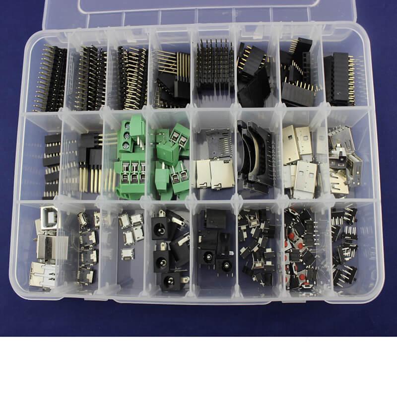 ערכת מחבר לelecrow בתור התחלת Arduino נפוצים בשימוש זכר/נקבה כותרת מחבר USB אלקטרוני ערכת DIY עם קמעונאיות תיבת