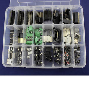 Juego de conectores Elecrow para arrancadores Arduino, conector USB macho/hembra de uso común, Kit DIY electrónico con caja de venta al por menor