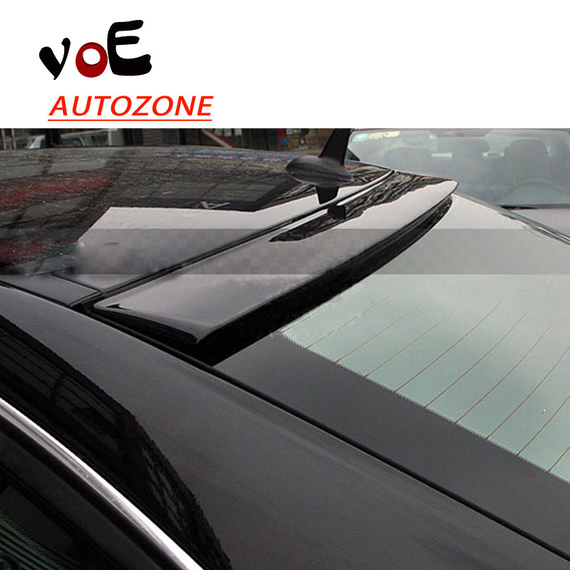 2009-2013 W204 ABS Plastic Material Unpainted <font><b>Rear</b></font> Roof <font><b>Spoiler</b></font> for <font><b>Mercedes</b></font>-<font><b>Benz</b></font> W204 C-class C180 C200 C280 <font><b>C300</b></font> C260 image