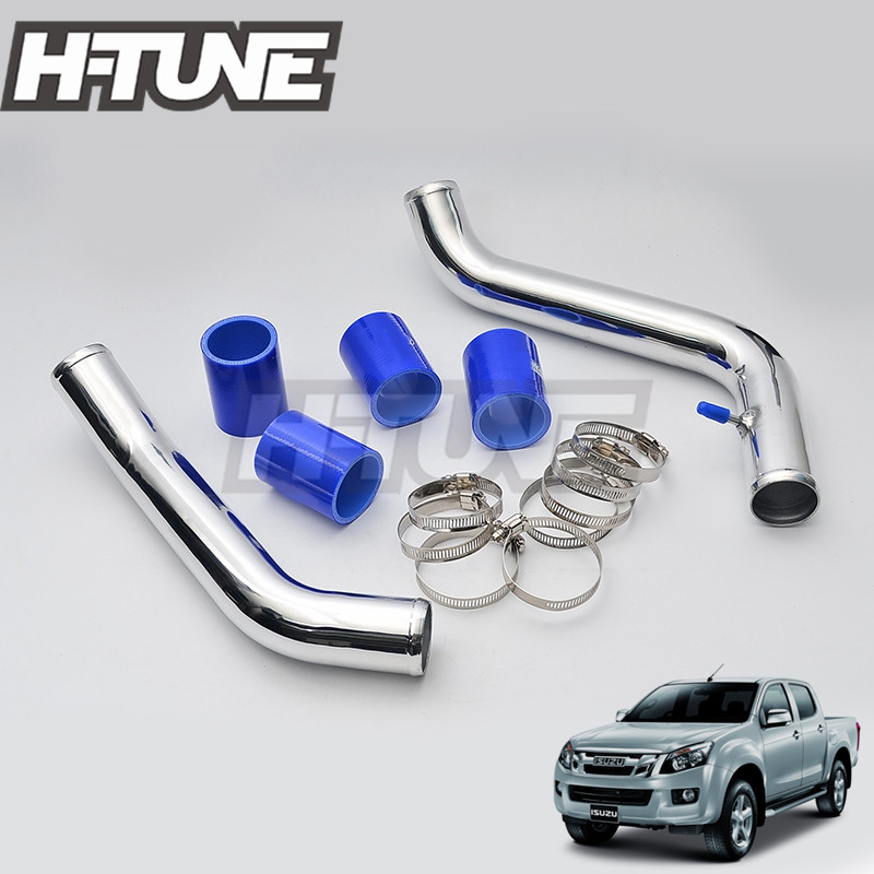 H TUNE Turbo Diesel 2 Intercooler Piping Pipes Kits for D max 2 5L 4JK1 2012