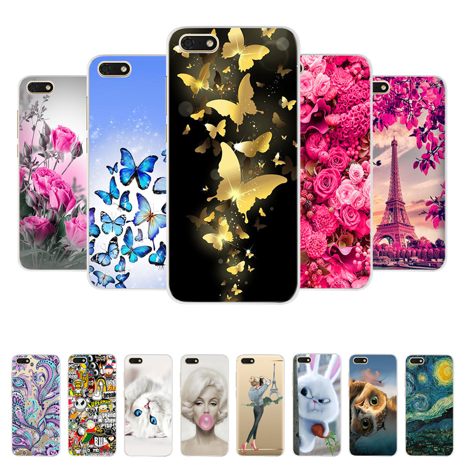 for Huawei Y5 Prime 2018 case for Huawei Y5 lite 2018 Soft Silicon ...