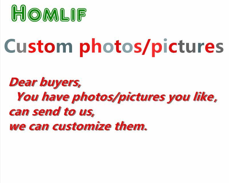 Homlif 5D DIY PHOTO CUSTOM 3d Diamond Painting