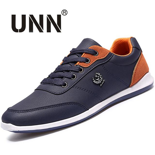 Nuevo 2016 de Los Hombres Atan Para Arriba Los Zapatos Del Diseñador cómodo Primavera Otoño Los Hombres de moda Casual Zapatos Al Aire Libre Zapatos de Marca Hombre Calzado Para hombres