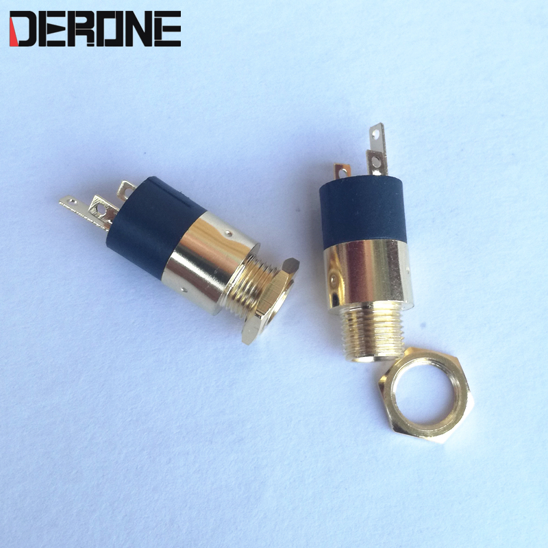 1 Piece 3.5mm Headphone Jack Stereo Female Sockect Panel Mounting Audio Diy Jack