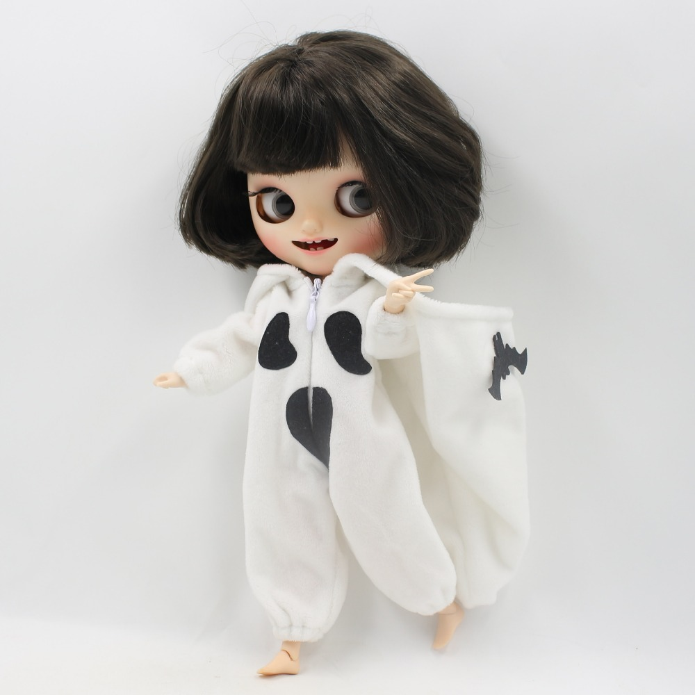 Neo Blythe Doll Halloween Bat Dress 5
