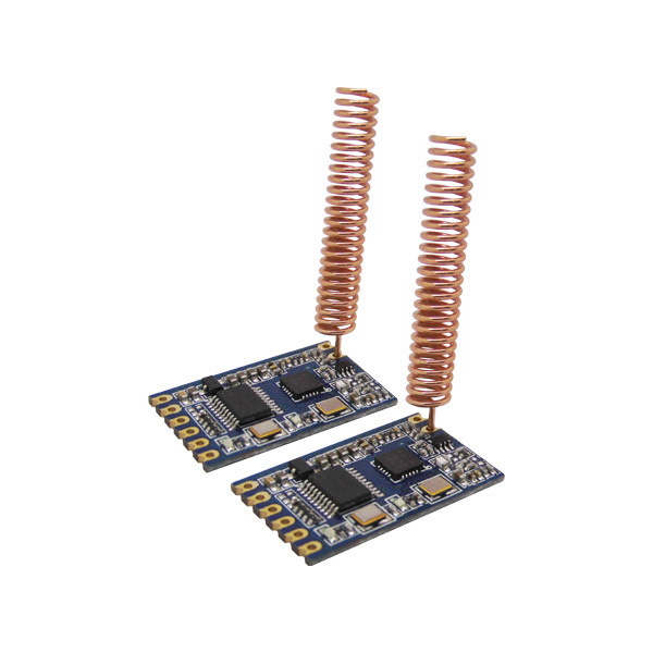 SNR610  TTL Interface RF Module 433MHz Wireless Data Transmitter and Receiver RF Module 1.4km Long Range