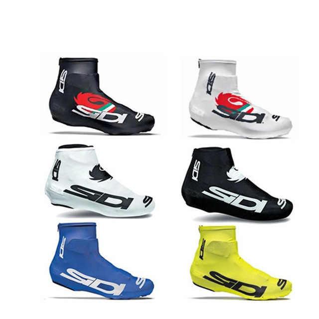 Copriscarpe da ciclismo Sneaker copriscarpe 6 colori primavera bici da strada copriscarpe MTB ciclismo