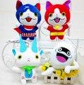 Новый Йо-Кай 2016 Kawaii Youkai Часы Куклы Рис 20 см Jibanyan Komasan и Шепотом Youkai Плюшевые Игрушки Мягкие куклы