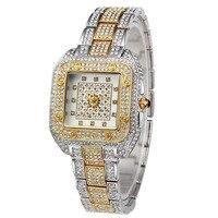 2018 High Quality Fashion Watches Women Geneva diamond Watches Ladies Dress Quartz Watches reloj mujer