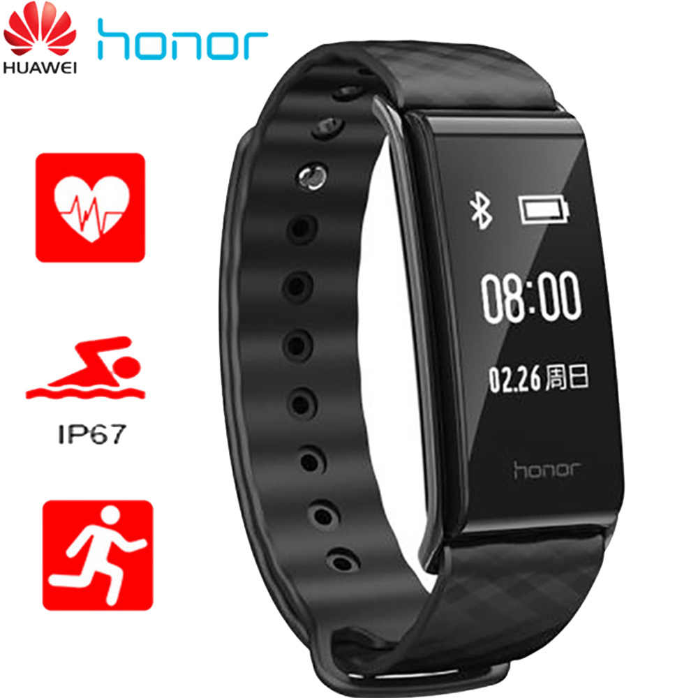 Huawei Honor A2 Smart Band Beacelet Hartslagmeter Smart Armband Band Horloge Fitness Tracker Armband PulseHonor Smartband