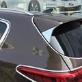 Para KIA Sportage 2016 2017 Cromo cubierta del coche styling accesorios ABS Chrome trasera ventana parabrisas lateral moldura triángulo 2 unids