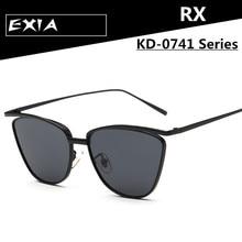 Women Glasses Colors New Sunglasses Alloy Fraem Cat Eye Glasses EXIA OPTICAL KD-0741 Series