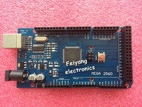 Free Shiping 1SETS Mega 2560 R3 Mega2560 REV3 ATmega2560 16AU Board NO With USB Cable