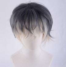 IDOLiSH7 מחדש: Vale Momo פאות חום עמיד סינטטי שיער פאת קוספליי + מסלול לא. + פאת כובע
