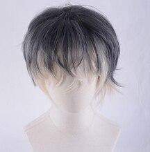 Idolish7 re: vale momo 가발 내열성 합성 머리 코스프레 가발 + 트랙 번호 + 가발 모자
