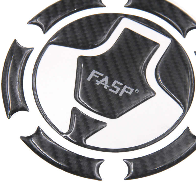 for Kawasaki Ninja 250 300 Z250 Z1000 Z1000SX Z800 Z750 ZX-14R Real Carbon Fiber Fuel Tank Pad Gas Cap Cover Motorcycle Sticker