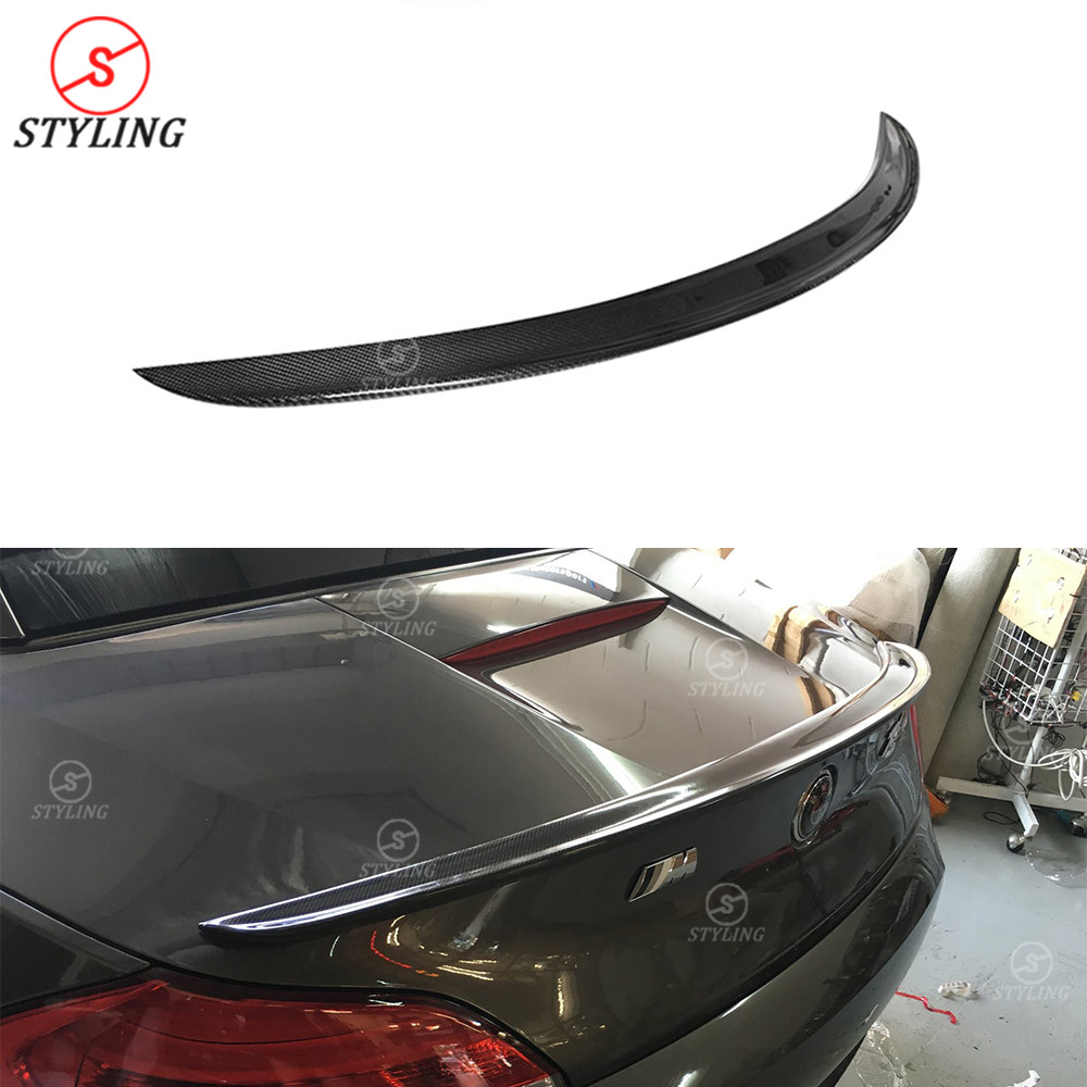 E89 Carbon Spoiler wing 3D Style For BMW Z Series Z4 Carbon Fiber Rear Bumper trunk spoiler styling 2009 2010 2011 2012 2013