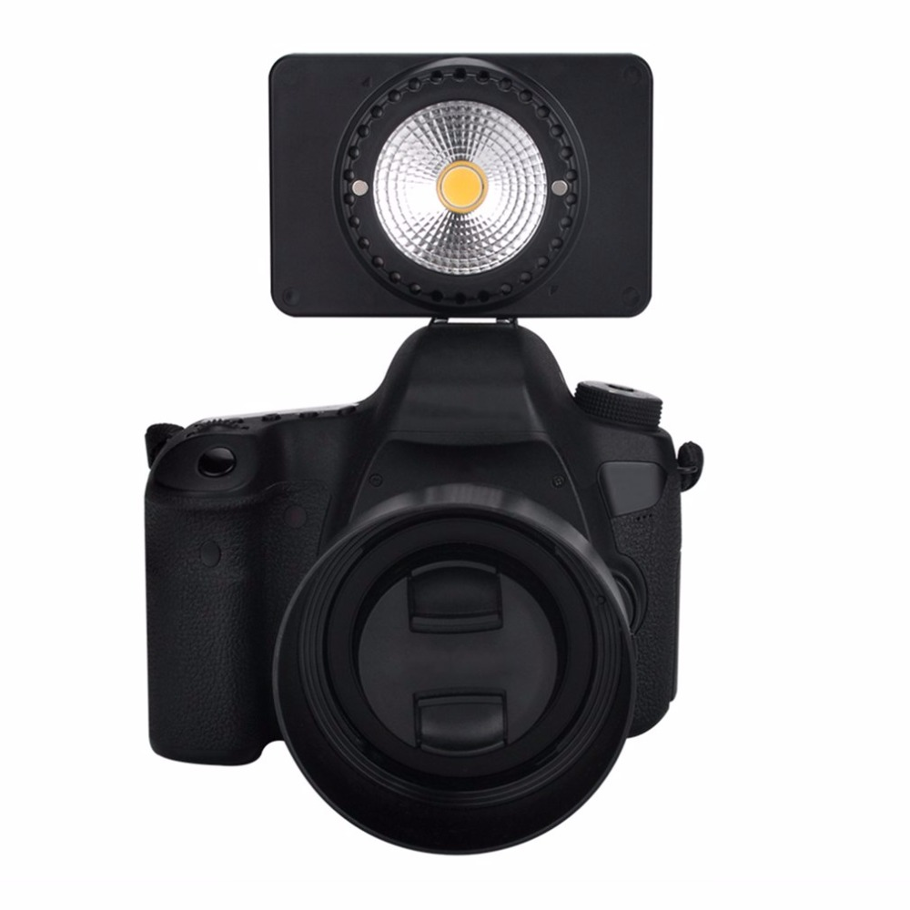 Mini LED Fill Light Photo Studio Dimmable Lamp Micro USB Rechargeable Video Light 5500K Daylight Spotlight with Bracket
