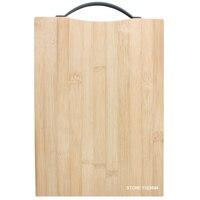 28x20x1.5 cm Totalmente De Bambu Placa De Corte de Bambu Forte Placa de Madeira Tábua de cortar Cozinha com Grande Corte quarto