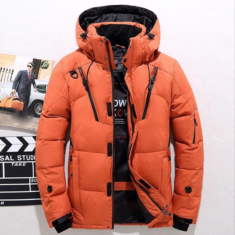 a329e616 Chaqueta gruesa para hombre abrigo de invierno de nieve para hombre abrigo  de Parkas de abrigo 4 colores más tamaño M-3XL