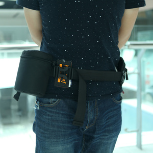 Image 5 - Andoer עמיד למים מרופד מגן עדשת המצלמה תיק Case פאוץ עבור DSLR ניקון Canon Sony עדשות תיק שחור גודל S M L