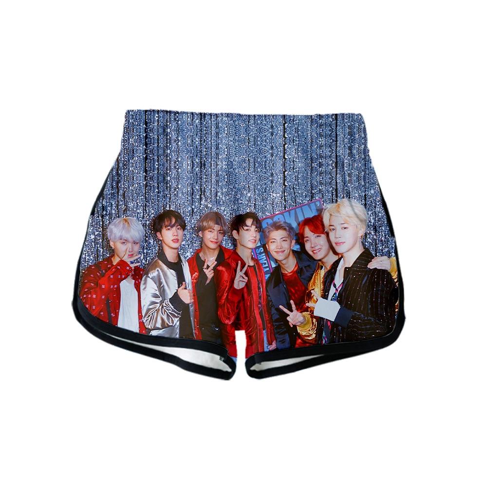 Bf Drop Shopping 2019 New Kpop Jimin Suga 3d Summer Women Clothes Casual Harajuku Cute Girl Hot Sale Sexy Shorts Plus Size