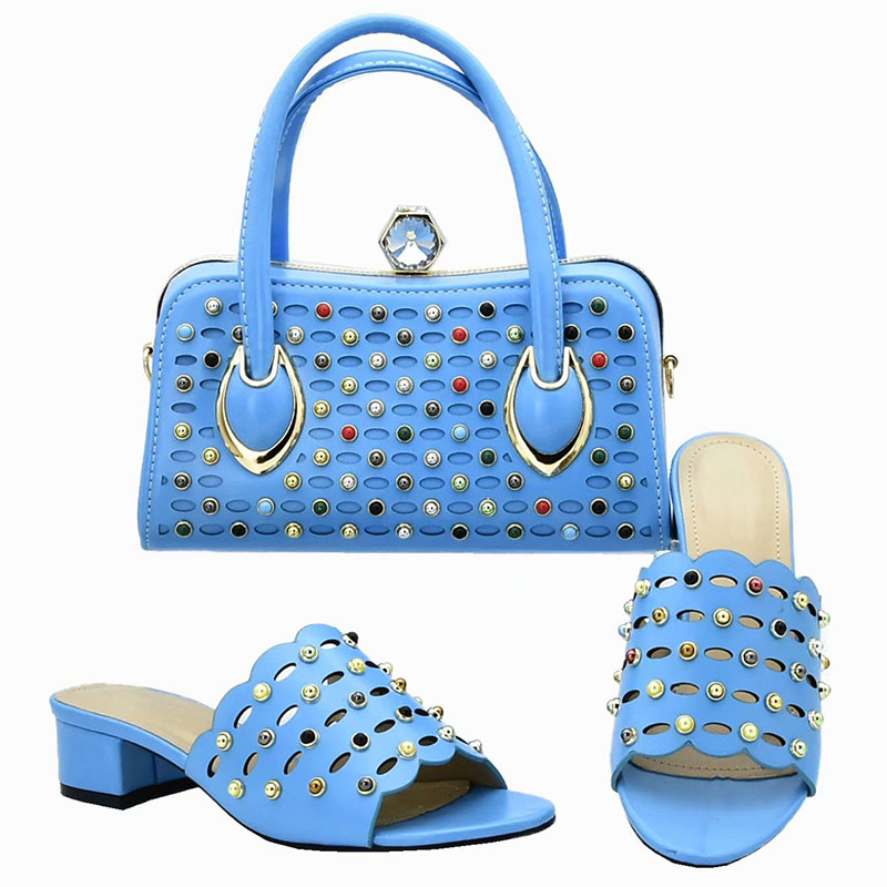 Latest African Wedding Italian Shoes and Bag Sets High Quality Nigeria Women Party Shoes and Matching Bag Set  size 37-42 MM111Latest African Wedding Italian Shoes and Bag Sets High Quality Nigeria Women Party Shoes and Matching Bag Set  size 37-42 MM111