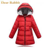 2019 printemps hiver veste pour filles vêtements coton rembourré à capuche enfants manteau enfants vêtements fille Parkas enfant vestes et manteaux